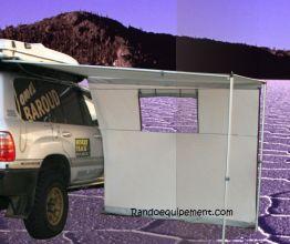 x Auvent 3 panneaux pour store latéral James Baroud - ANCIEN MODELE (2013)
