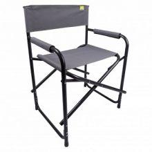 chaise-de-camping-pliante-directeur-gris-pour-camping-plein-air-outdoor