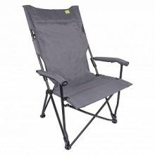 fauteuil-de-camping-pliante-gris-pour-camping-plein-air-outdoor