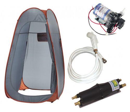 kit douche echangeur eau cabine douche douchette pompe. Black Bedroom Furniture Sets. Home Design Ideas