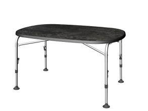 table-pliable-ovale-reglable-4-pieds-aluminium