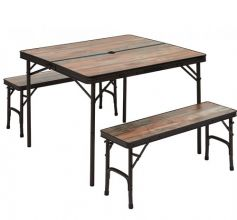table-trigano-de-camping-accessoires-de-plein-air-meuble-table-avec-2-bancs-integres