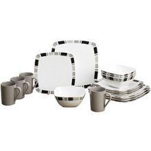 vaisselle-16-pieces-carre-black-vaisselle-camping-car-melamine