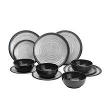vaisselle-ensemble-12-pieces-rondes-granite-camping-car-bateau