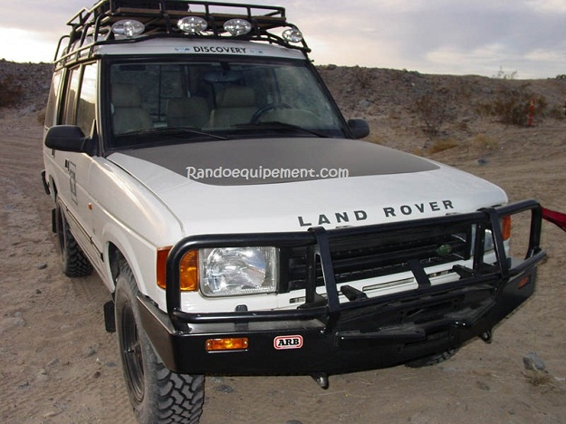 LAND ROVER DISCOVERY I PARE-CHOCS ARB 4X4 WINCH BARS