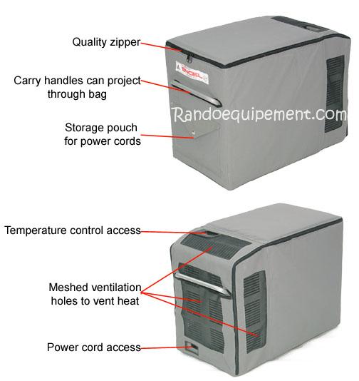 Housse isotherme pour frigo engel md60 - Conservation aliments cuits hors frigo ...