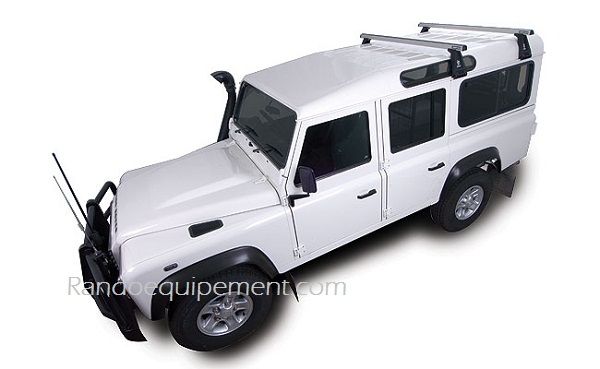 * LAND ROVER DEFENDER 90 110 130 Fixations Rhinorack x 1 paire