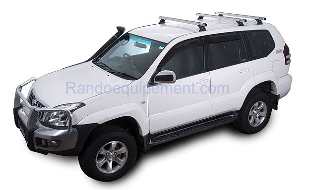 toyota 120 kdj 120 125 landcruiser fixations rhinorack x 3 paires. Black Bedroom Furniture Sets. Home Design Ideas