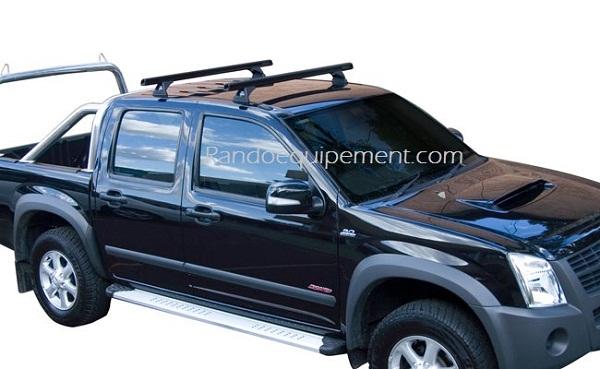 * ISUZU D MAX Crew Cab 4 portes Fixations Rhinorack x 2 paires