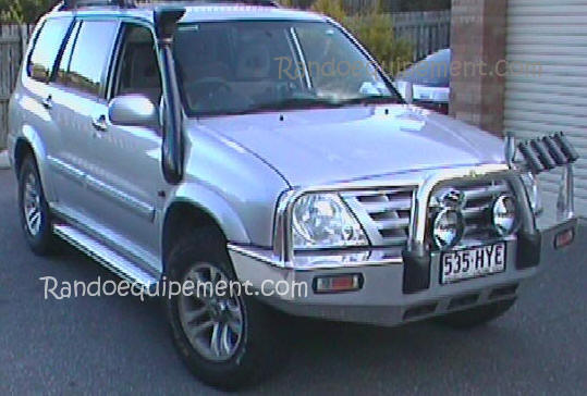Snorkel  Airflow SUZUKI GRAND VITARA APRبS 2000