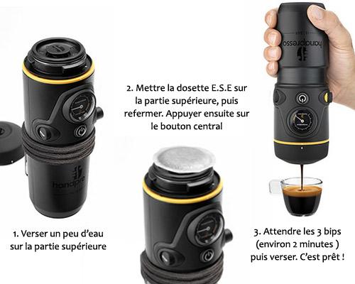 DOSETTES CAFE COVIM GOLD ARABICA - BOITE DE 25 DOSETTES POUR EXPRESSO PORTABLE