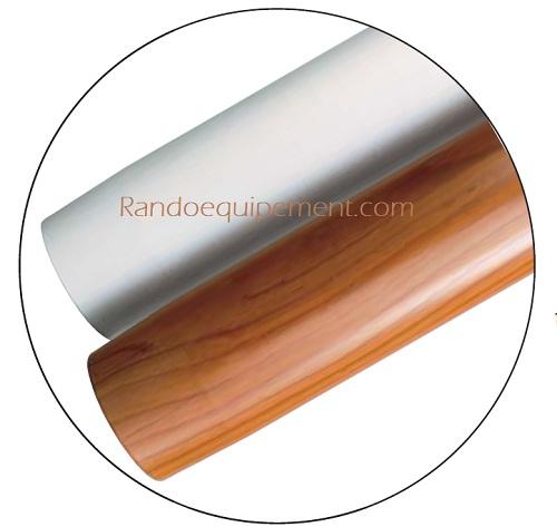 x PIED DE TABLE GOIOT Hauteur 285 mm - ASPECT BOIS