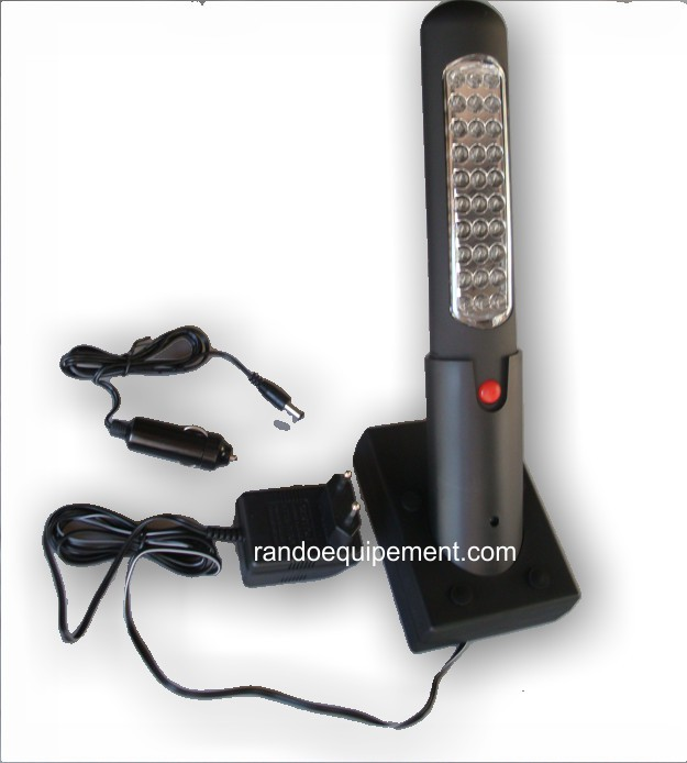 LAMPE DE POCHE Baladeuse à led sur batterie