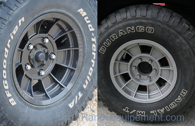 LAND ROVER: Range Rover/Discovery/Defender: Jante TX BLANCHE 16 X 8 / 20 P