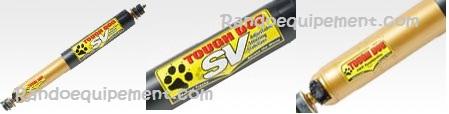 Amortisseur direction NISSAN PATROL Y60 / Y61 TOUGH DOG (Réglable) 4x4 Y60 Y61