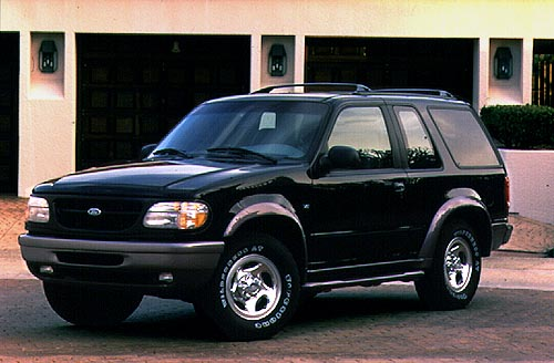 FORD EXPLORER>01 ARRIERE MEDIUM Ressorts 4x4 la paire