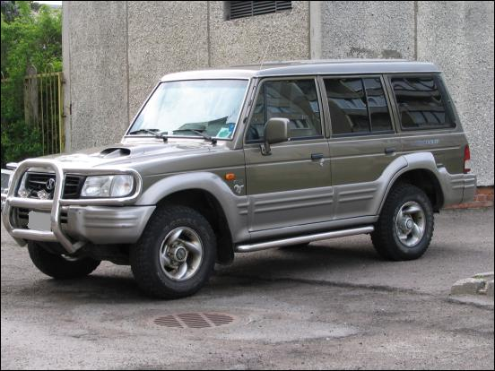 HYUNDAI GALLOPER 5P ARRIERE LOURD 4X4 Ressorts King Springs (la paire)