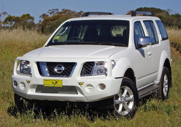 NISSAN PATHFINDER R51 AVANT MEDIUM 4X4 Ressorts King Springs (la paire)