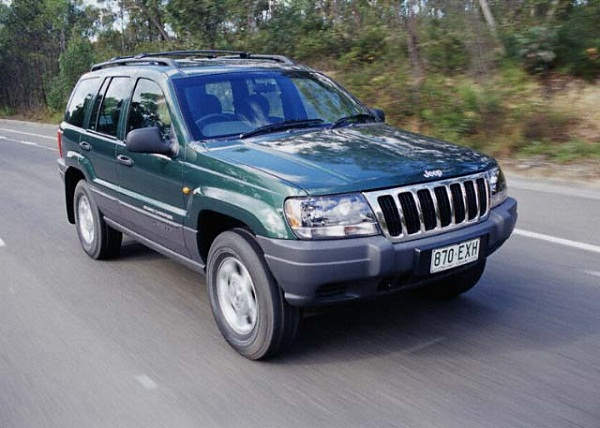 JEEP GRAND CHEROKEE WJ / WG AVANT MEDIUM 4X4 la paire