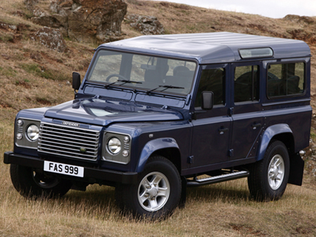 LAND ROVER DEFENDER 110 130 ARRIERE TRES LOURD +30 paire