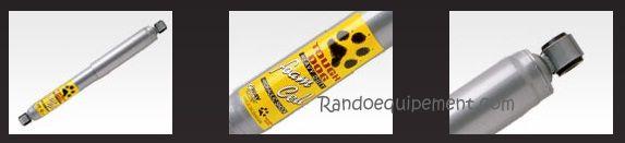 NISSAN PATROL Y60 / 61 Amortisseur 4x4 Tough Dog FOAMCELL  ط  41MM AVANT 4x4