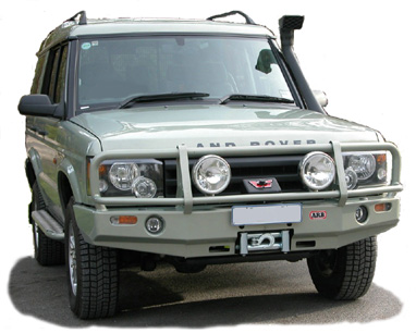 LAND ROVER DISCOVERY Amortisseur 4x4 Tough Dog FOAMCELL  ط  41MM AVANT 4x4