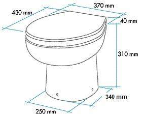 x wc broyeur sanimarin confort plus 12v. Black Bedroom Furniture Sets. Home Design Ideas