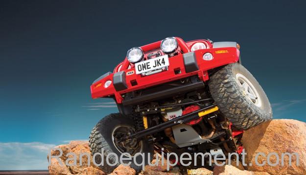 KIT DE REHAUSSE OME Jeep Wrangler JK +10 cm