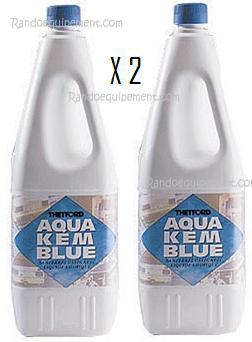 additif liquide aqua kem blue thetford produit wc par 2. Black Bedroom Furniture Sets. Home Design Ideas