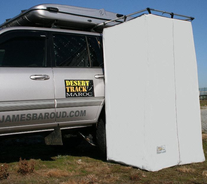 cabine de douche de camping