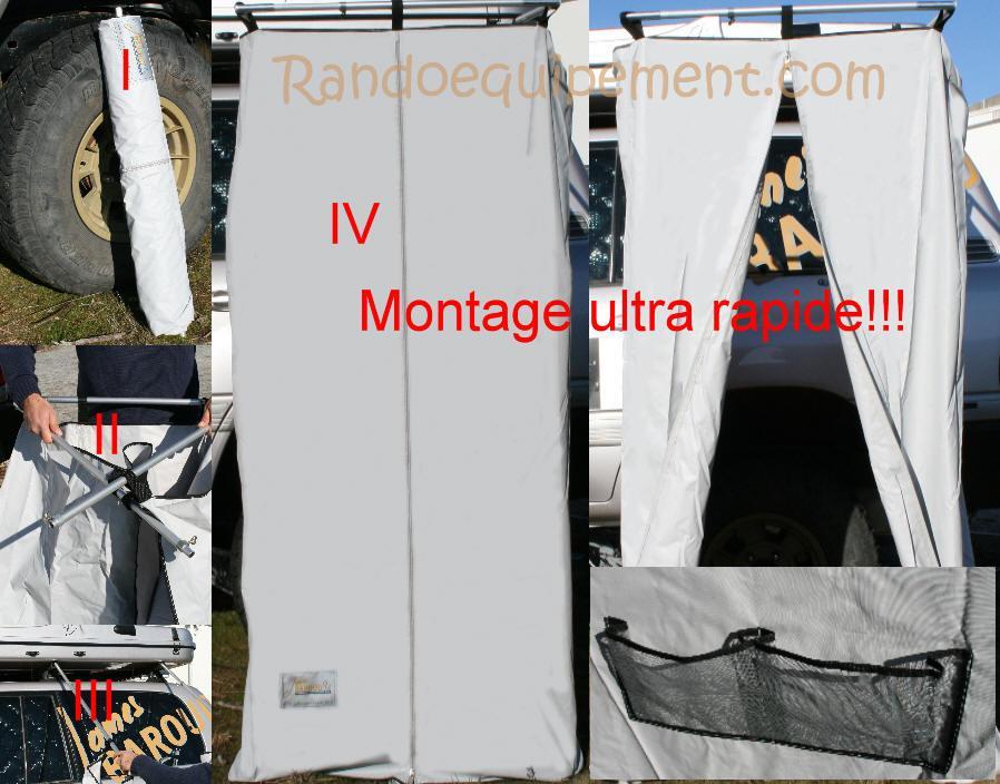 cabine de douche 4x4