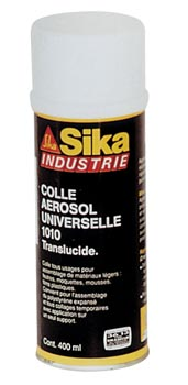 Colle neoprene en atomiseur de 400 ml sika - Colle neoprene en bombe ...
