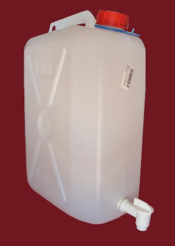 jerrican plastique alimentaire 10 litres avec robinet. Black Bedroom Furniture Sets. Home Design Ideas