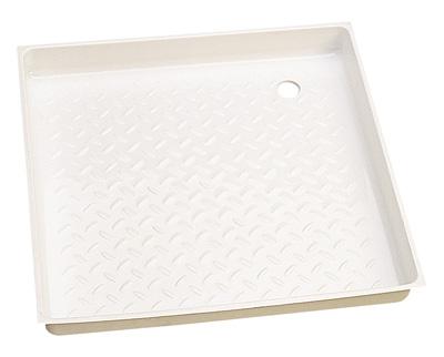bac a douche percage angle 600 x 600 mm bac a douche sans bonde bouchon. Black Bedroom Furniture Sets. Home Design Ideas
