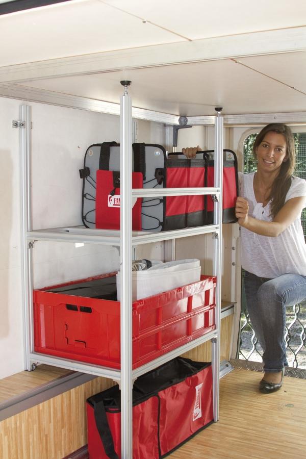 garage system standard rayons pour bac de rangement rangement camping car. Black Bedroom Furniture Sets. Home Design Ideas