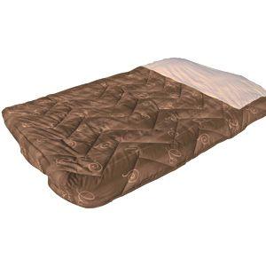 x lit tout fait 130 140x200 marron cote droit pour camping car caravane. Black Bedroom Furniture Sets. Home Design Ideas