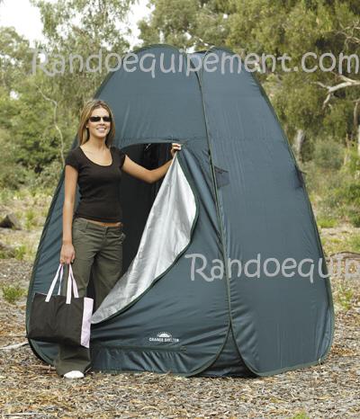 cabine de douche shelter grand modele x m change shelter ext rieur. Black Bedroom Furniture Sets. Home Design Ideas