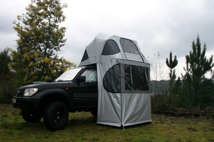 tente de toit james baroud tissus vision option auvent horizon vision. Black Bedroom Furniture Sets. Home Design Ideas