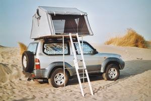 tente de toit tissus dune tente de toit james baroud. Black Bedroom Furniture Sets. Home Design Ideas