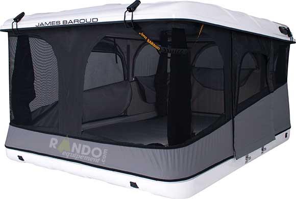 tente de toit james baroud evasion evolution l 205 x l. Black Bedroom Furniture Sets. Home Design Ideas