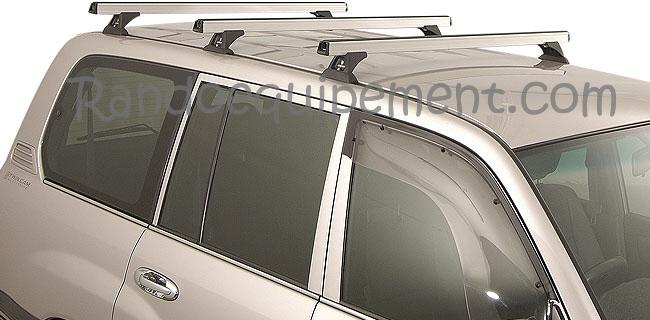traverse barre de toit pour 4x4 longueur 1500 mm aluminium anodis silver. Black Bedroom Furniture Sets. Home Design Ideas