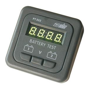 tableau de contr le module voltmetre pt532 g controle etat charge des batteries. Black Bedroom Furniture Sets. Home Design Ideas