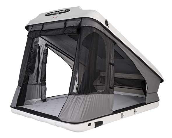tente de toit james baroud disco space evolution l 205 x l 142 x h 140 x hp 50 cm. Black Bedroom Furniture Sets. Home Design Ideas